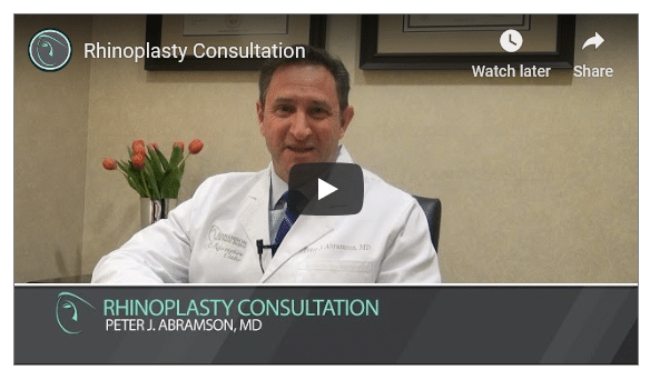 Rhinoplasty Consultation video