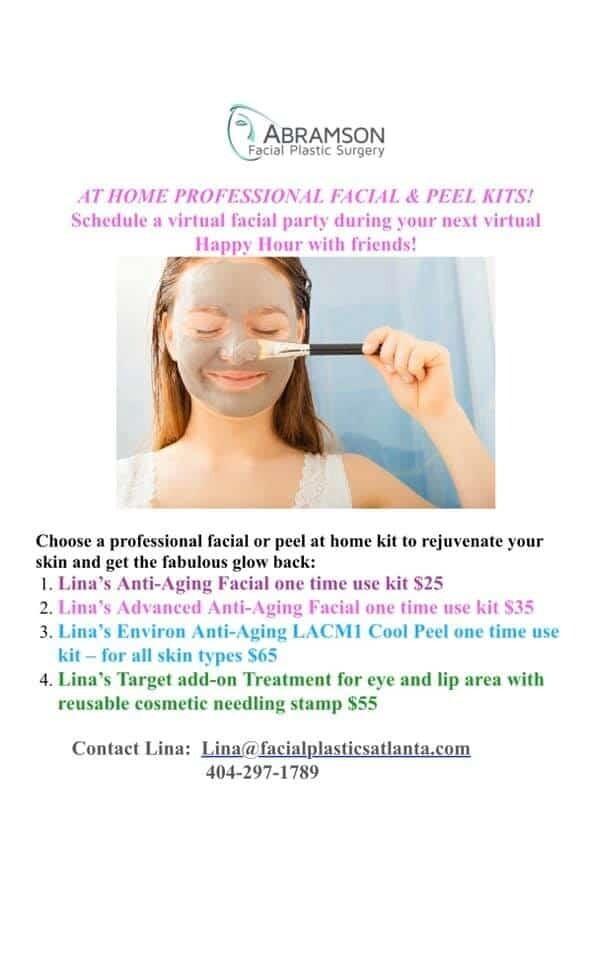 At-Home Facials and Peels